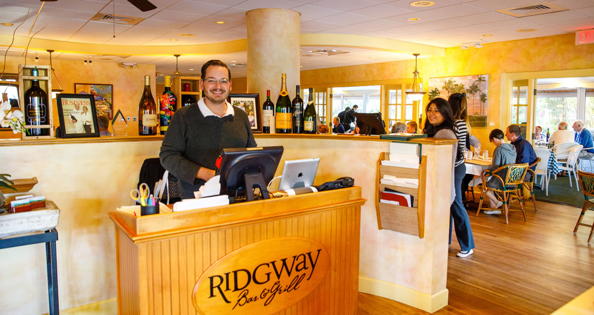 David at Ridgway Front Desk - home slider